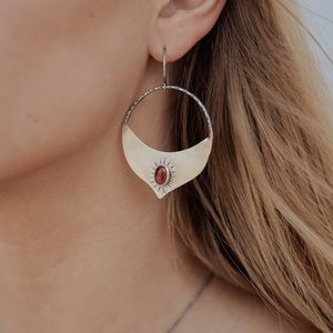 Claire Sommers Buck Madrasa Earrings
